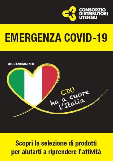 FLYER CDU COVID 19 – CDU HA A CUORE L'ITALIA
